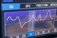 車のイコライザー設定で重低音重視にしたいです どうすればいいですか?