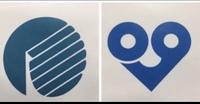こちらの2つのロゴの企業名わかる方どなたかいらっしゃいますか?