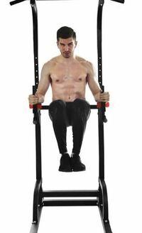 腹筋の筋トレについて。 懸垂マシンを購入して画像のように足を上げて腹筋を鍛えようと思うのですが、主に腹筋下部に効くとききました。 腹筋をこのトレーニングだけで鍛えるとバランスが悪くなってしまいますか? 別で上部もきたえるべきでしょうか?