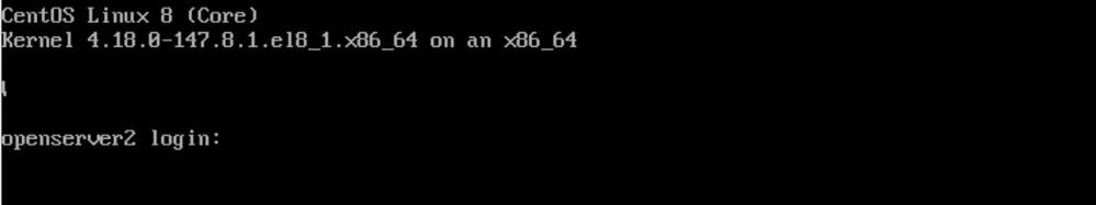 centos8を使用していますが、先日、ESXi を6.7にアップデートしました。 コンソールの画面のログイン、パスワードを入れようと思ったのですが、 ログインはなんとかはいりましたが、(cap...