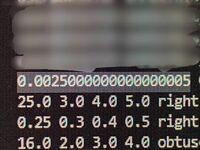 Javaについて Java初心者です。 Math.powを使って 0.05の二乗を行うと 0.00250000000000000005 となります。  どうしてですか? どうしたら0.025になりますか?