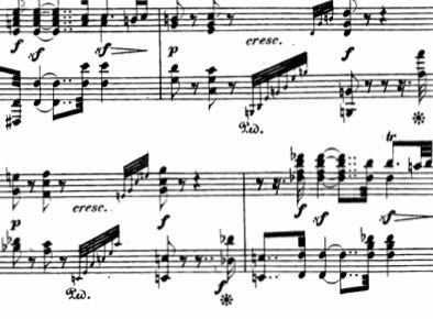ベートーベンのピアノソナタ 32番です、写真にある二つある高速アルペジオの運指を教えてください