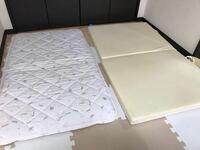 保育園お昼寝布団について教えてください^_^ 敷布団って右の二つ折りでも大丈夫ですか? それとも左の薄いマットの方がよいですか?