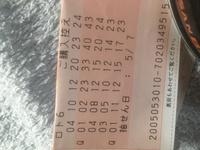 ロト6は、直感で買いますか?  今日はこんな数字のロト6を、ATMで買いました  幸せあれ!