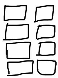 PDF化されたパワーポイントを、1枚の用紙に複数スライド(6〜8スライド)並べたいです。 自宅にプリンターがないためコンビニで印刷をしたいのですが、コンビニのプリンターだと用紙1枚に2スライドしか入れられません。 何か方法が有れば教えていただきたいです。 イメージとしては添付の画像のような感じです。