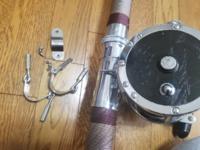 釣り penn セネター9/0を買った初心者です 左の金具(リールから取り外しました)は何のためにあるのでしょうか?