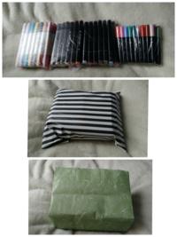 メルカリの梱包についてです 90本近いイラストマーカーの梱包なんですが、これでいいでしょうか? まとめる用のビニール袋→濡れ防止の袋→紙袋 プチプチ巻いた方がいいですか? 不快にさせたくないので、ご指摘お願いしたいです。