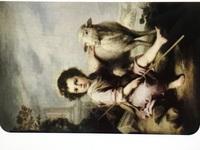 この絵画の作品名、作者名を教えてください!