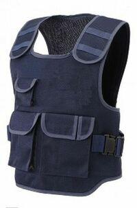 警察官が着用している下記のようなベストは、防刃チョッキなんですか? それともただのベストですか?