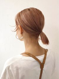 美容師さんに質問です。  髪型のオーダーの時に下のような写真を見せて、「結んだ時にこういう感じになるようにして下さい」というのは、わかりにくいでしょうか?? (因みにカットのみです 。)