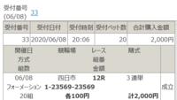 四日市ナイター競輪の最終12R、添付車券をどう思いますか?^^  残高が5,400円に増え、2,000円使ったので、残高は3,400円となりました♪