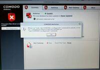 Linux mint 19.3 mate 32bitにComodo Antivirus for Linuxを入れたのですが、画像のメッセージが出てしまい、 【run diagnostics】が続けられません。 どのようにしたら、続行できますでしょうか? ご存知の方、...