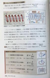 ソレノイドの内部の磁場とは、ソレノイドの(真ん中の)内部の磁場ですか?