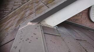 コーキング,屋根裏,築十数年程,手抜き工事,板金