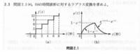 ラプラス変換の問題です ((b)の波形の解き方と解答を教えてほしいです 文章で説明したくださると助かります。よろしくお願いしますm(__)m