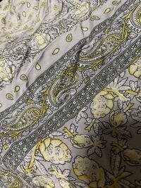 しまむらで画像のワンピースを買ったのですがパンツが透けてしまうのでインナースカート?のペチコートを買おうと思うのですが何色のペチコートが良いでしょうか?