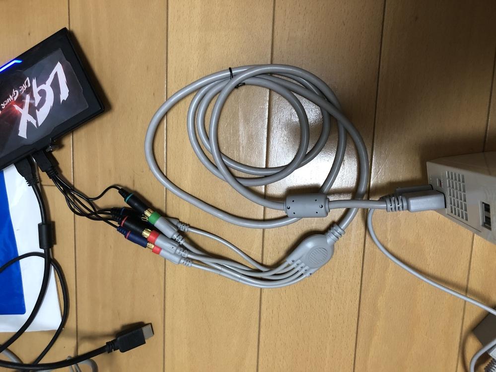 Wii 映像音声 出力 ケーブル コンポーネントAVケーブルを使い、gc550付属のケーブルに繋いだのにno.signalと表示されます。 どのように、接続すれば上手くwiiをキャプチャーでき...