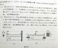 材料力学の問題です。 解き方を教えてください。