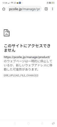 ここ最近pcolleで動画販売しようと商品登録押したらサーバーにアクセス出来ないんだけどなぜ?