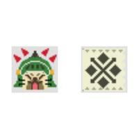 モンハンダブルクロスについて モンハンダブルクロスのゲーム内でこれらのアイコンが使われているクエストってありましたっけ? ご存知の方はどのクエストで使われていたか教えていただきたいです