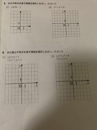 やり方,グラフ,不等式,黒丸,描き方,教科書