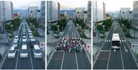 富士市にBRTを敷設すれば脱車社会化して地域活性化しますか? 富士市は道路が広すぎるので4車線道路や6車線道路をBRT専用レーンに切り替えます。新富士駅から富士見大通り、青葉通りを経由して市街地を貫いて富士駅北口まで走ります。これで駅から市街地、郊外から駅を循環します。途中停留所をトランジットセンターにして路線バスと接続します。マイカーの量を減らすために必要だと思いませんか?
