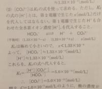 第二電離が存在する場合で第二電離で生じた水素イオン濃度を無視しています。どれくらい第二電離で生じた水素イオン濃度が小さいとき無視するのですか?