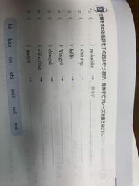中国語の問題です。ピンインが苦手でわかりません。教えてください。