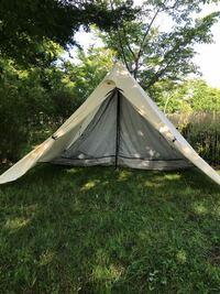 テント キャンプ アウトドア テンマクデザイン テンマクデザイン パンダVC購入してから初張りしたんですが、インナーがダルダルです。取説通りにセットしたのにダルダルです。  前後逆?かと思って入れ替えても変...