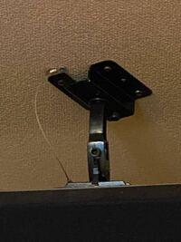 カラオケボックスの部屋の中のスピーカーの上に付いていたものなのですが、これはスピーカーをとめるためのパーツなどでしょうか? それとも、防犯カメラなどでしょうか?