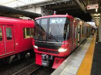 名鉄の準急は、急行や特急に追い越されませんか? 日中の名古屋本線の豊明行き準急は、普通電車を追い越さないし、急行や特急に追い越されもしません。