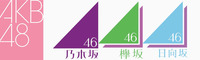 秋元康プロデュースのAKB48・乃木坂46・欅坂46・日向坂46の 4組のそれぞれの好きな曲BEST3を教えてください。 ※シングル曲・カップリング曲・アルバム曲・ソロ曲でも構いません。 ※日向坂46はけやき坂46時代の曲は除きます。