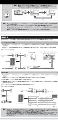 セレナ C27 e-power 前期型にアラウンドビューをナビに映したいのですが、いくら調べても配線のつなぎ方がわからなかったので質問させてください。 車種はセレナC27 前期型のe-powerとなります。28年~モデル 取...