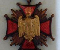 ナチスドイツの勲章だとは思うのですが、私が見てきたなかでは初めてのもので、贋作、もしくは好事家のオリジナルでしょうか。 ナチスドイツ、勲章、世界史に詳しい方、これがなんなのかよろしくお願いします。