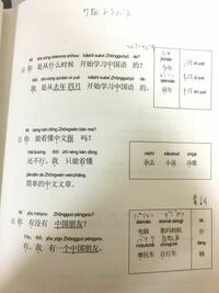 p.15上・この文と四角の中の単語の日本語訳を教えてください。