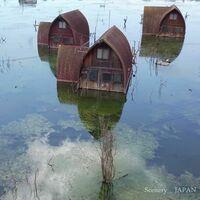 グリーンファームの水没前の姿を見てみたいです。どこかに載ってないでしょうか?  岡山県瀬戸内市牛窓町