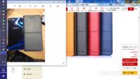 左が届いた現物写真、右がショップに掲載されてる商品写真  どれに見えますか?