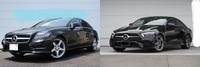自動車好きの40代以上の中年の方へ質問です!! 添付画像のメルセデスベンツCLSを2台所有している者ですが性能は現行型の方が良くなっているかもしれませんがW218ベンツって現行型の物よりもかっこいいですよね?