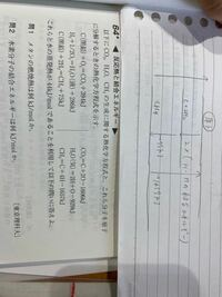 この問題の問2は上の手書きのエネルギー図では解けないのでしょうか。