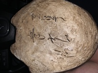 古い陶器製だと思うのですが裏側にこちらの文字がありました。 なんと書いてあるかわかる方教えて頂きたいです。 よろしくお願いします。