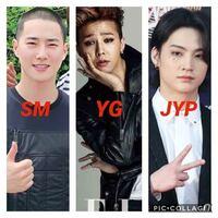 kpopに詳しい方に質問します。 大手三大事務所であるSM、YG、JYPに所属するグループの特徴はどんな感じでしょうか?