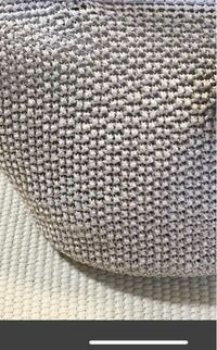 かぎ針編みでこの模様の編み方、名称をわかる方がいましたら教えてください。