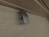 このタイプのドアノブに鍵をかけることはできますか? 内側からも外側からも出来るものがベストです。 ドアは内開きです。
