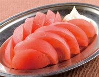 トマトスライスには何かけますか? (^。^)b  1、塩 2、マヨネーズ 3、ドレッシング 4、その他