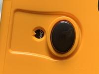 KODAK Film Camera M35を買ってフィルムを入れたのですが画像のようにS・1の間で止まっています。 フィルムがしっかり入っていないということなのでしょうか。