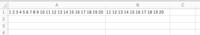 Excelで半角スペースで区切られている多数の文字列の中から「左から半角スペース10個目まで削除し11個目以降を残す」方法教えてください。 添付画像の例のように A列に半角スペースで区切られてる文字列が多数あ...