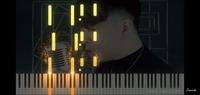 この光や煙の演出が格好いいピアノロールのソフトウェア、何を使っているかわかる方いませんか?  シンセシアも同じようなことが出来るのですが、こんなに格好いい演出はない。。