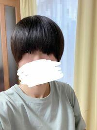 前髪伸び放題なのですが、どんな風に切ったらいいですかね? この画像は、とりあえず前髪全部真っ直ぐに下ろしてる状態です