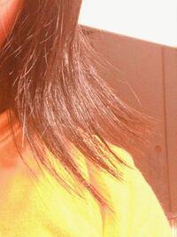髪の毛についてです。 中学2年から約4年間ぶりに髪を伸ばしているのですが、昔髪の毛をスカスカになるまですかれてしまい、普通に1日髪の毛を下ろして過ごしただけで写真のように汚い外ハネになってしまいます。  朝起きて30分かけてストレートアイロン パサつかないためのヘアオイル クリーム などを試しても同じ結果でした……  ちなみに写真は今日ストレートアイロン、ヘアクリームをつけて高校から帰ってき...