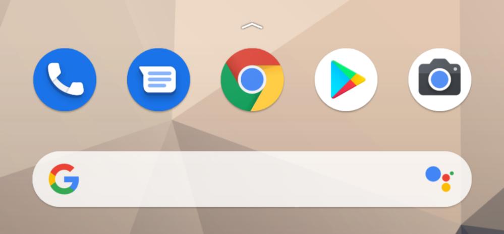 Android11にアップデートしてからchromeの上に何か現れたのですがこれはなんですか?タップすると3回跳ねます